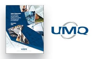 Couverture du guide proposé par l'UMQ